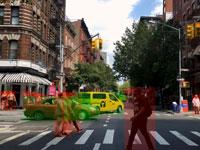 קריאת סביבת הרכב נעזרת בבינה מלאכותית/ צילום : יחצ Cortica