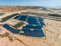 שדה סולארי בנגב. / צילום: EGE