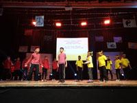 תלמידי בית ספר יעלים בערד עם תלמידים מאל פורעה/ צילום:  באדיבות מירי מושקא
