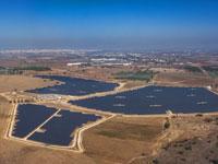 החווה הסולאריתת זמורות של חברת EDF / צילום: יחצ