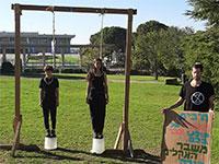 """מחאת האקלים בישראל / צילום: יח""""צ"""