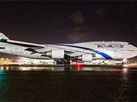 ג'מבו 747 אל על / צילום: יוחאי מוסי