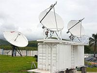 תשתיות תקשורת של סאטקום / צילום: אתר החברה