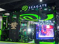 דוכן תצוגה של סיגייט ((Seagate Technology (STX) / צילום:  Shutterstock/ א.ס.א.פ קריאייטיב