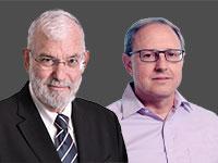 """ניר זיכלינסקי ויעקב עמידרור / צילום: יח""""צ"""