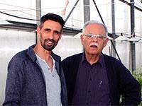 """פרופ' יגאל כהן וד""""ר יריב בן נעים, חברת Cann-IL / צילום: יח""""צ"""