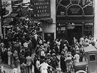 """משבר 1929 בארה""""ב / צילום: יח""""צ"""