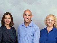 """וינוד וייקונטנתן, רינה שאינסקי, אלון קאופמן, שפי גולדווסר, וקורט רולוף / צילום: יח""""צ"""