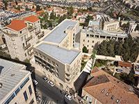 תוכנית הרחבת מלון נוטרדם / הדמיה: נחום מלצר אדריכלים