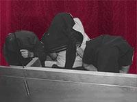 שלושה עצורים בבית המשפט בראשון לציון  / צילום: איל יצהר, גלובס