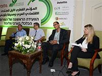 היבי, עזאם וריאד בפאנל המגזר העסקי בחברה הערבית כמנוע לצמיחה כלכלית, בכנס פיתוח כלכלי של הפורום הכלכלי הערבי וגלובס / צילום: איל יצהר, גלובס