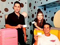 """קמפיין ההשקה של SKYMAX, כרטיס האשראי הראשון בישראל שמאפשר לצבור נקודות ולטוס עם כל חברות התעופה / צילום: יח""""צ"""