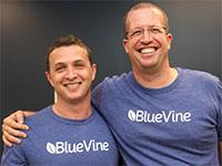 מימין ניר קלר ואייל ליפשיץ יזמי BlueVine  / צילום: בלו ויין