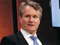 """בריאן מויניהן, מנכ""""ל בנק אוף אמריקה / צילום: SHANNON STAPLETON, רויטרס"""