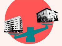 מה כוללת עסקת התחדשות עירונית ומה חשוב לדעת לפני שמתחילים / עיצוב: טלי בוגדנובסקי, צילום: איל יצהר, בר אל