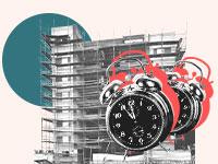 הגדרות ברורות בחוזה הנוגעות לתקופת הביצוע / עיצוב: טלי בוגדנובסקי, צילום: איל יצהר, shutterstock