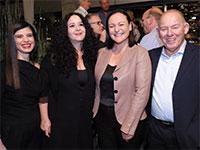 יגאל גוברין, גל נאור, דלית זילבר ובשמת פלג סרצ'נסקי / צילום: חכם צלמים