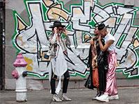 """קהילה שכונתית של חברת הנדל""""ן וואן בבושוויק  / צילום: כפיר זיו"""