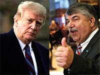 ריצ׳רד טראמקה ודונלד טראמפ / צילום: רויטרס