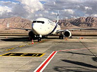 מטוס אל על בשדה התעופה רמון / צילום: דוברות רשות שדות התעופה