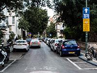 """חניה ברחוב בת""""א / צילום: שלומי יוסף"""