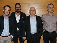 שלומי טחן שמעון מירון ניר ויצמן ליאון אביגד  / צילום: אבישי פינקלשטיין