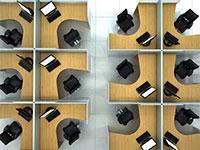 משרד ללא מחיצות / צילום: shutterstock, שאטרסטוק