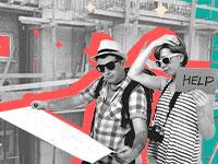 מינהלות להתחדשות עירונית / צילום: shutterstock, עיצוב: טלי בוגדנובסקי