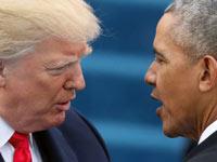 ברק אובמה ודונלד טראמפ / צילום: רויטרס Carlos Barria
