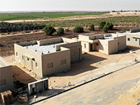"""בנייה ביישוב אבשלום בעוטף עזה / צילום: החברה לקידום פרוייקטי הרחבות בע""""מ"""