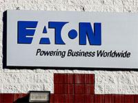 שלט חברת איטון, ממובילות המגזר ומוותיקות וול סטריט / צילום: shutterstock, שאטרסטוק