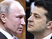 נשיא אוקראינה ולדימיר זילנסקי ונשיא רוסיה ולדמיר פוטין / צילום: רויטרס