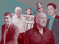 """20 כתבות המגזין הנקראות ביותר ב""""גלובס"""" 2019 / צילום: יונתן בלום, איל יצהר, כפיר סיון, shutterstock, עיבוד: טלי בוגדנובסקי"""