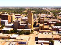 בלאבוק, טקסס. בניין הקולנוע שקנתה חברת ההשקעות המשפחתית / צילום: Shutterstock