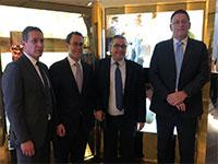 עודד ערן, אריק פינטו, ג'ף בלאו וגבי חמני / צילום: שרון סואן