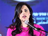 שרת המשפטים איילת שקד בכנס לשכת עורכי הדין / צילום: ליאב פלד