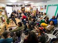 פעילות במרכז הצעירים במצפה רמון / צילום: תמר מצפי