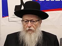 יעקב ליצמן / צילום: כדיה לוי
