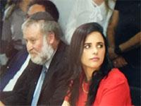 איילת שקד בטקס הפרידה ממשרד המשפטים / צילום: רפי קוץ