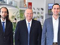 מייסדי החברה: דיונס טשלר, משה שליסר ועידן יניב / צילום: טום ברגמן