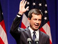"""פיט בוטיג'אג', המועמד הדמוקרטי לנשיאות ארה""""ב  / צילום: ג'ון סאמרס, רויטרס"""