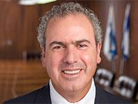 נשיא הבורסה הישראלית ליהלומים ברמת גן - מר יורם דבש / צילום: גיל לביא