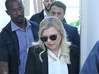 שרה נתניהו, רעיית ראש הממשלה בבית המשפט לקראת הודאה / צילום: מרים צחי
