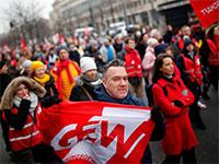 עובדי השירות הציבורי בברלין מפגינים בדרישה להעלאת שכרם / אינפוגרפיק: HANNIBAL HANSCHKE, רויטרס