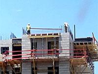 """אתר בנייה באשדוד / צילום: יח""""צ"""