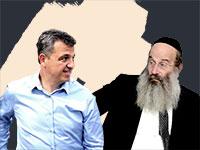 הרב אברהם רובינשטיין וכרמל שאמה / צילומים: איל יצהר, אלעד מלכה, עיבוד: טלי בוגדנובסקי