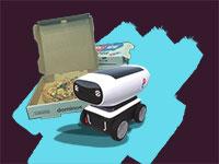 הרובוט של דומינו'ס / צילום: אתר החברה, shutterstock