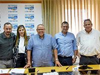 הסכם בבזק בינלאומי / צילום: אגף הדוברות בהסתדרות