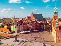העיר העתיקה של ורשה. צומת תחבורה אידיאלי / צילום: shutterstock, שאטרסטוק