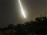 צילום של כוכב נופל ב-13 באוגוסט 2010. קנקון, מקסיקו / צילום: Gerardo Garcia, רויטרס
